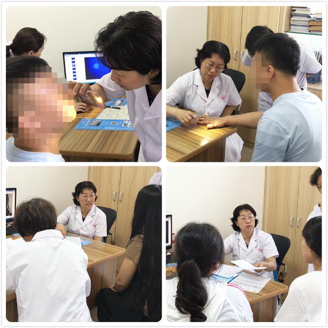 太原白癜风医院特邀北京白癜风专家杜娟教授往期坐诊现场