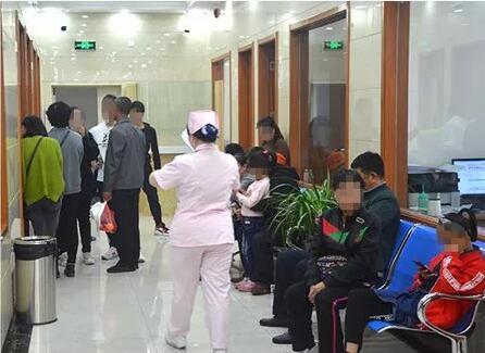 山西太原白癜风医院候诊大厅