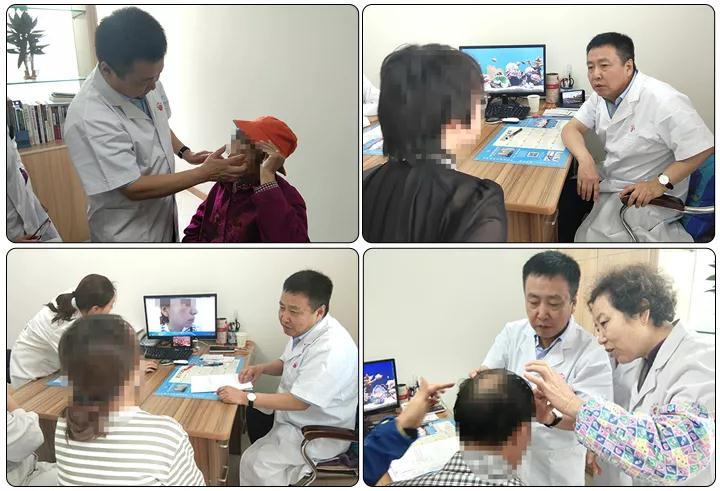 山西太原白癜风医院特邀北京专家张建中教授为患者看病
